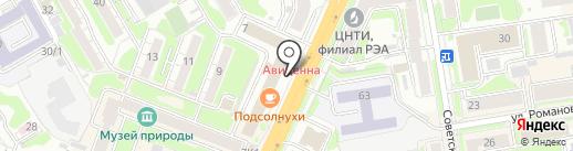 Sister & Sister на карте Новосибирска