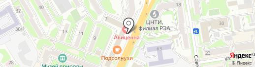 Розмарин на карте Новосибирска