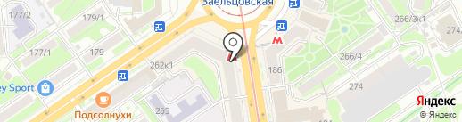 Новосибирской филармония на карте Новосибирска