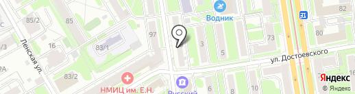 Ариант на карте Новосибирска