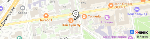 Жан Хуан Лу на карте Новосибирска