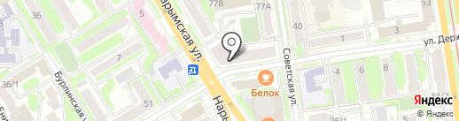 NEW IMAGE на карте Новосибирска