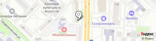 НашДом54.рф на карте Новосибирска