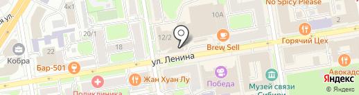 Дом Мечты на карте Новосибирска