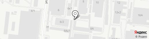 СК на карте Новосибирска