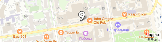 Сибирский Берег на карте Новосибирска