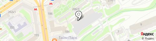 Русновоторг на карте Новосибирска