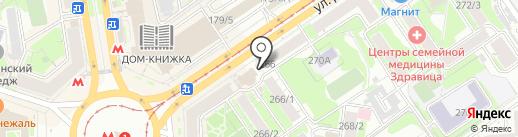 Хлебная столица на карте Новосибирска