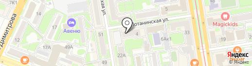 Цербер профи на карте Новосибирска
