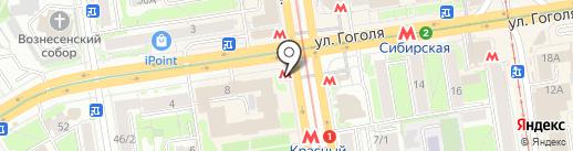 Общественный туалет на карте Новосибирска