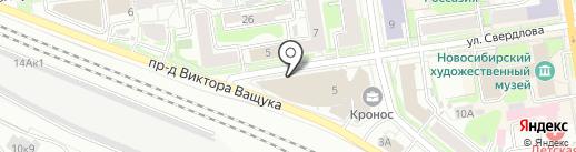 Эксперт банк на карте Новосибирска