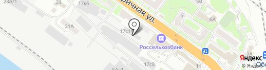 Raldo Mebel на карте Новосибирска