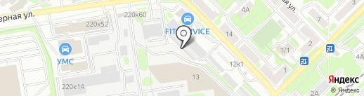 MebLike на карте Новосибирска