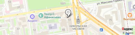 Делу Время на карте Новосибирска