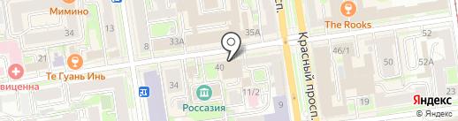 ETAGE на карте Новосибирска