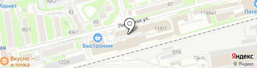 АЛЮКОН-Сибирь на карте Новосибирска