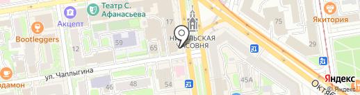Мини-кофейня на карте Новосибирска