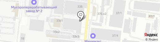 ААА-Фрезер на карте Новосибирска