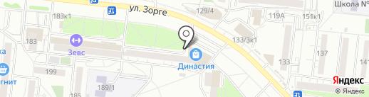 УМНЁХА на карте Новосибирска
