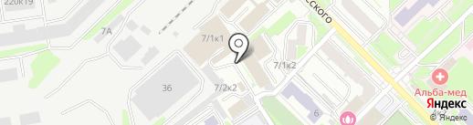 ДЕЗФОКС на карте Новосибирска