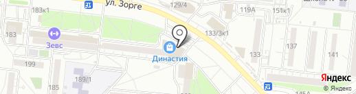 Криводановские колбасы на карте Новосибирска