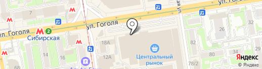 Стильный дом на карте Новосибирска