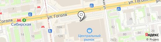 СССР на карте Новосибирска