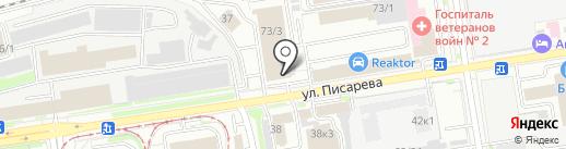 Центр ТК на карте Новосибирска