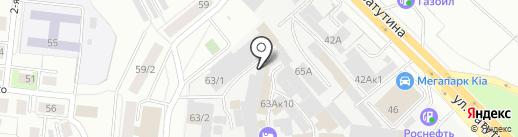 СИБ ПРОФИ на карте Новосибирска