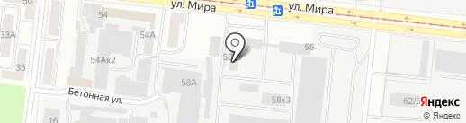 АНТСТРОЙ на карте Новосибирска