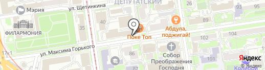 Лаборатория школьного оборудования на карте Новосибирска