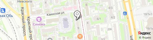 Арт-Джем на карте Новосибирска
