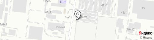 Столовая на карте Новосибирска