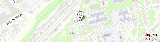 Red Lips на карте Новосибирска