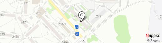 РАтич на карте Новосибирска