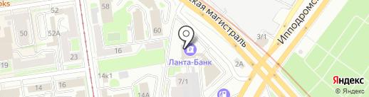 А++ Страхование на карте Новосибирска
