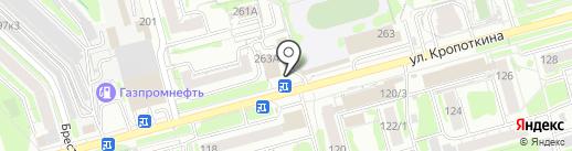 СЛАДКИЙ СОН на карте Новосибирска