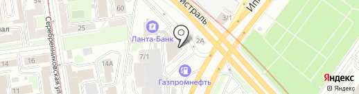 ИнвестГрупп на карте Новосибирска