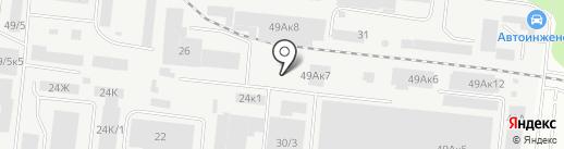 СибТрансСырьё на карте Новосибирска