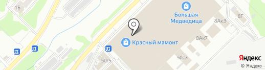 Первый потолочный супермаркет на карте Новосибирска