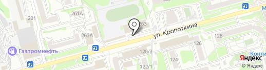 Почтовое отделение №85 на карте Новосибирска