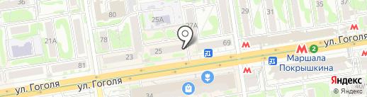 Игры почемучек на карте Новосибирска