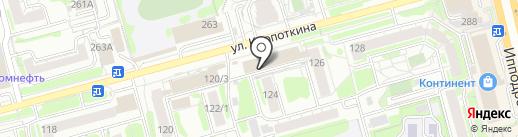 Prima на карте Новосибирска