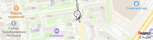 Пивная Академия на карте Новосибирска