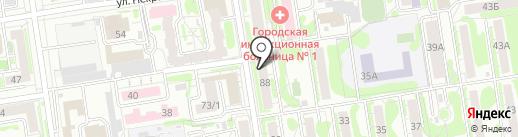 Старк на карте Новосибирска