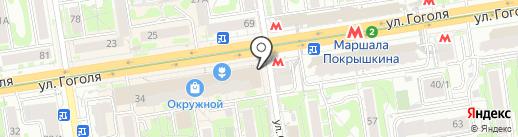 E-cash на карте Новосибирска