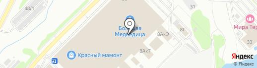 Eurolux на карте Новосибирска