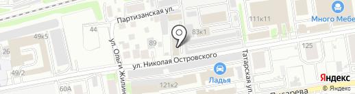 EuroPartsNSK на карте Новосибирска