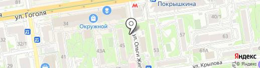 Мастерская по ремонту обуви на карте Новосибирска