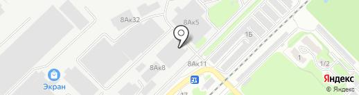АЛКОН на карте Новосибирска